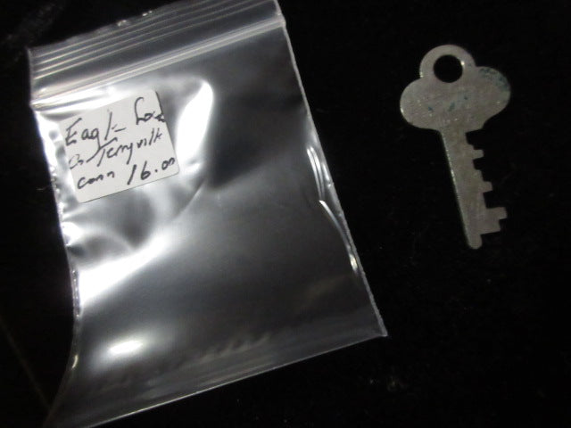 EAGLE LOCK COMPANY VINTAGE KEY FREE SHIPPING AND HANDLING NO RETURNS