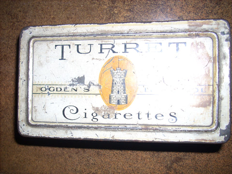 CIGARETTE METAL TINS, BOXES FREE SHIPPING AND HANDLING NO RETURNS