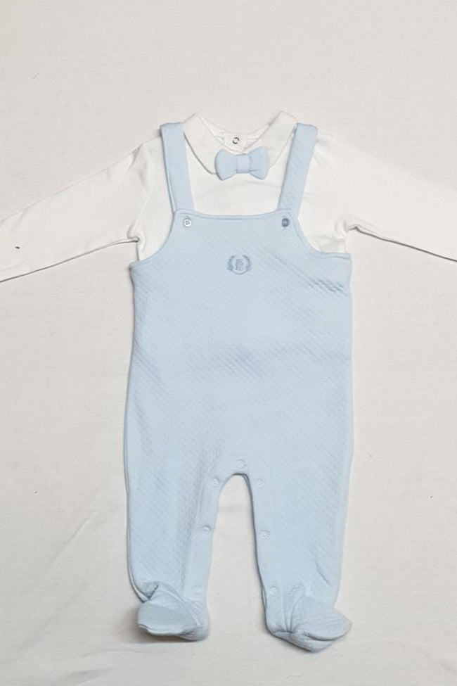 Baby Boys 2pc Top & Dungaree Set
