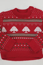 Baby/Todder Festive Red Christmas Jumper