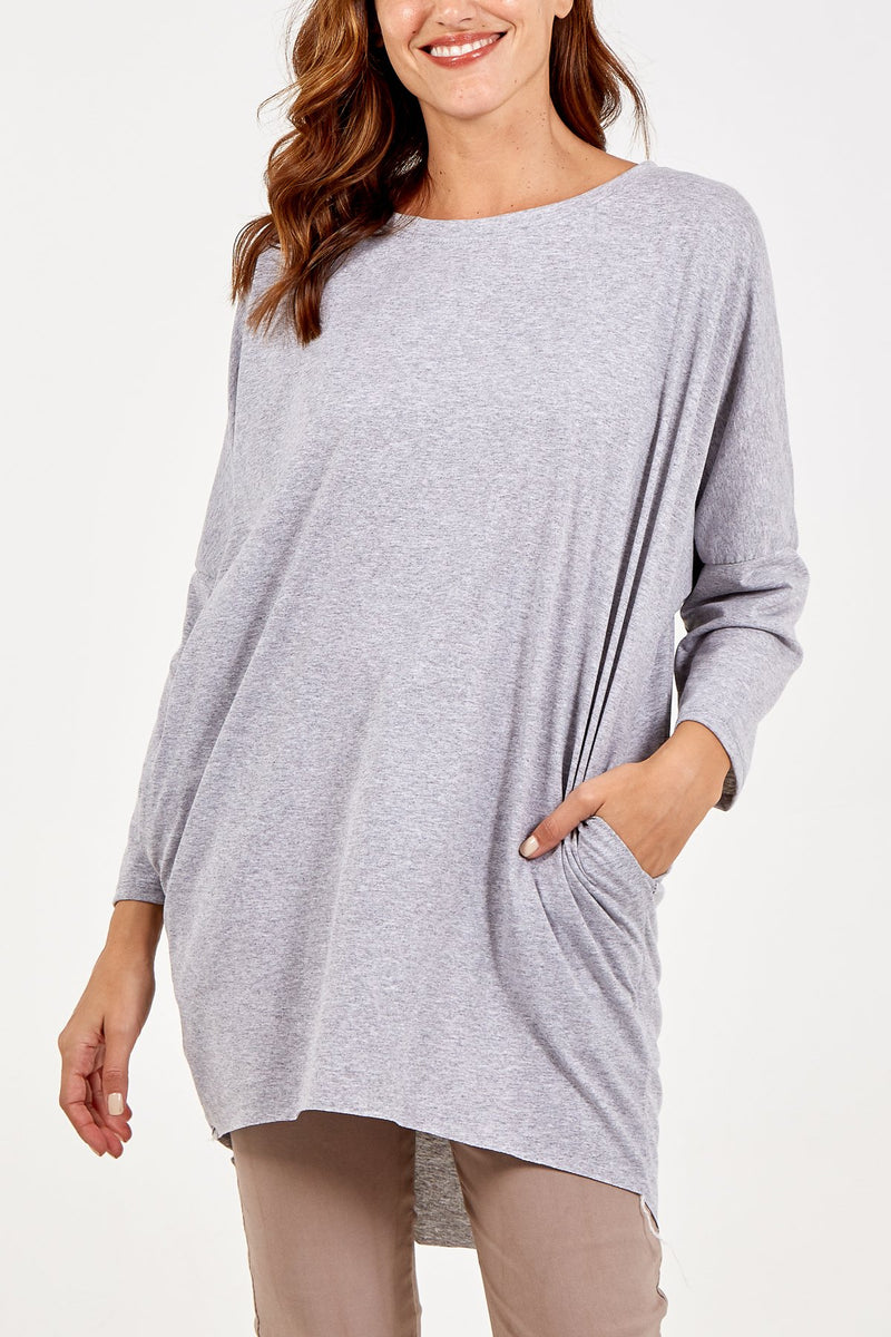 Sequin Angel Wings Oversized Batwing Top