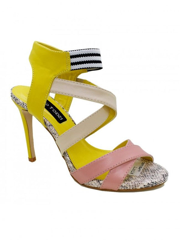 'Shelley' Multicoloured High Heel Stiletto Shoes