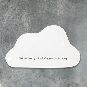 East of India | Wobbly Cloud Dish | Behind Every Cloud