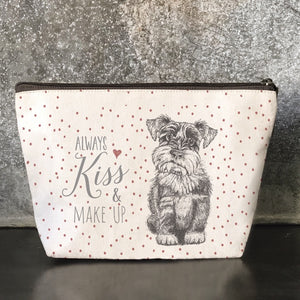 East of India | Cosmetic Bag | Always Kiss and Make Up