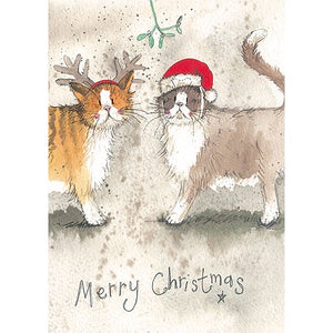 Alex Clark | Charity Greetings Cards Pack of 5 | Fancy Dress Cats