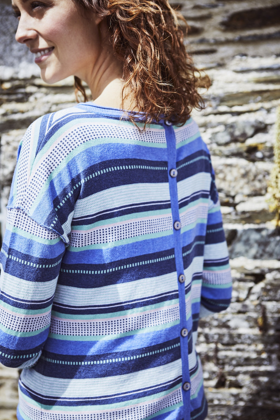 Lily & Me | Knitted Stripe Jumper