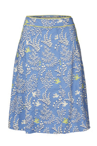 Lily & Me | Marnie Skirt Doves | Blue