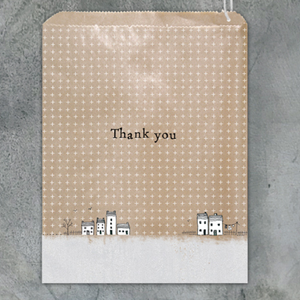 East of India | Strung Paper Bags | Thank You House | Pack of 10