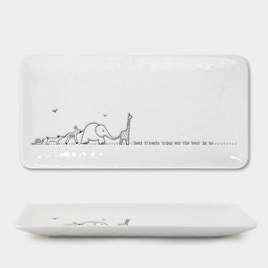 East of India | Long Trinket Dish | Animals