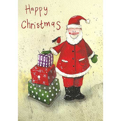 Alex Clark | Charity Greetings Cards Pack of 5 | Santas Presents