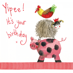 Yipee! It's Your Birthday Card