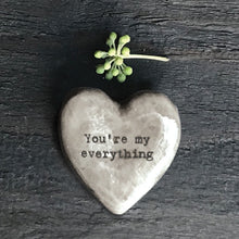 Load image into Gallery viewer, East of India | Heart Token | You're My Everything