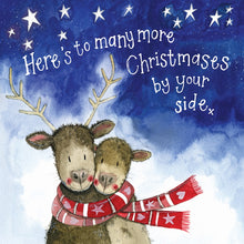 Load image into Gallery viewer, Alex Clark | By Your Side Deer Starlight | Christmas Greetings Card