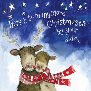 Alex Clark | By Your Side Deer Starlight | Christmas Greetings Card