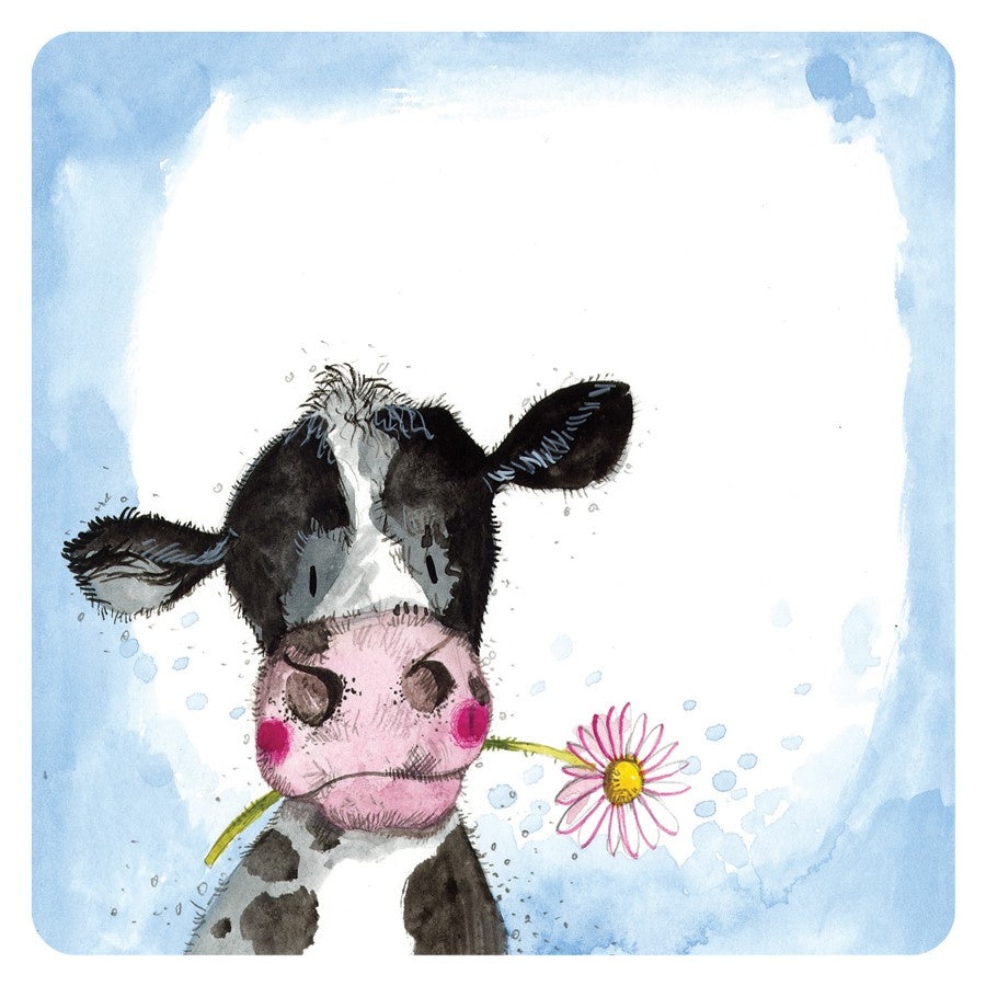 Alex Clark | Sunshine Cow Coaster