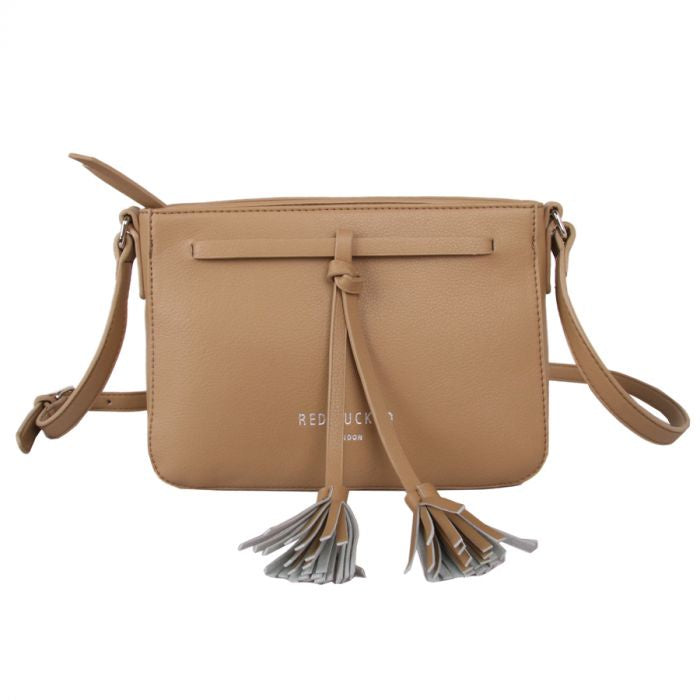 Red Cuckoo | Cross Body Bag | Taupe