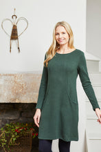 Load image into Gallery viewer, Lily & Me | Bevington Dress Plain Knit | Spruce Green