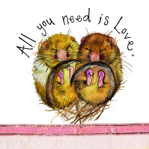 Alex Clark | All You Need Is Love | Greetings Card