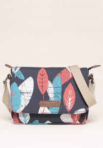 Brakeburn | Textured Leaf Roo Pouch Bag