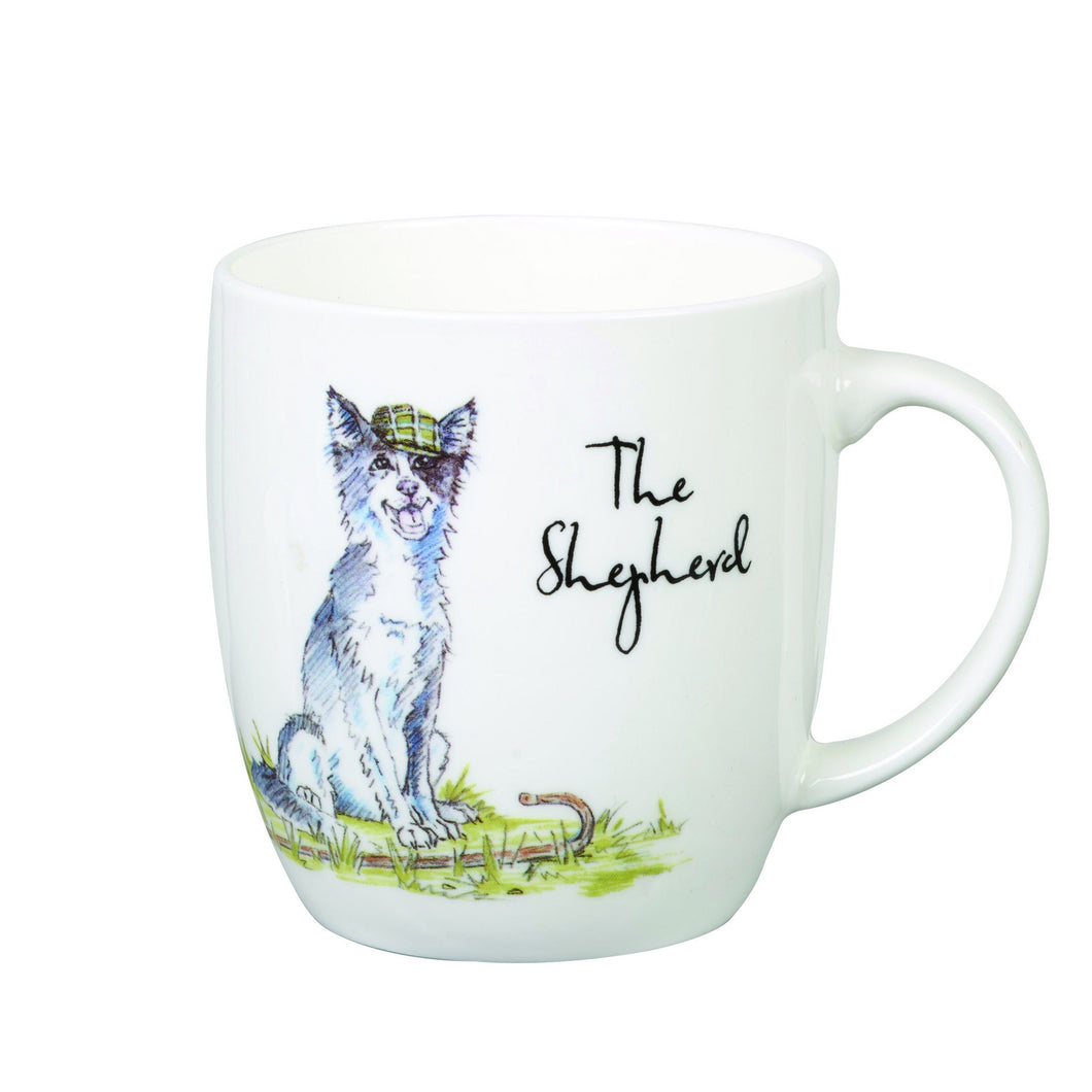 Country Pursuits | Olive Mug  | The Shepherd