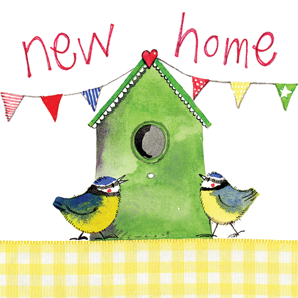 Alex Clark | Bird House New Home Card