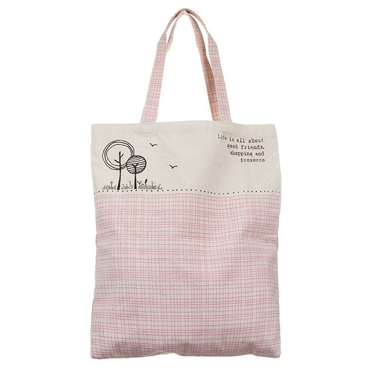 East of India | Shoppers Bag | Life is about