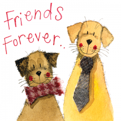 Friends Forever Little Sparkle Card