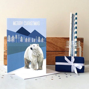 Arch & Ivy | Greetings Card | Polar Bear Merry Christmas