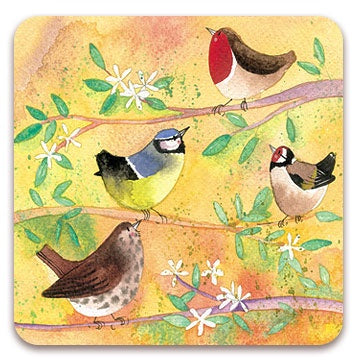 Alex Clark | In the tree Bird Coaster