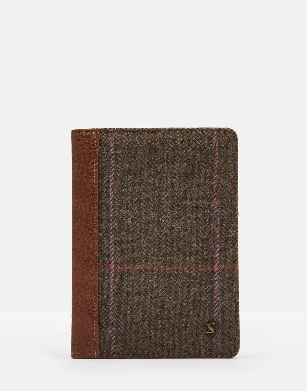 Joules | Jetsetter Tweed Passport Holder | Hardy Tweed