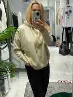 Load image into Gallery viewer, Cassie Camel light knit Hoodie - Pure Ladies Boutique
