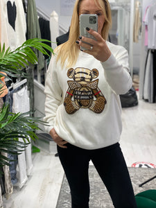 Billy Bear Jumper - Pure Ladies Boutique