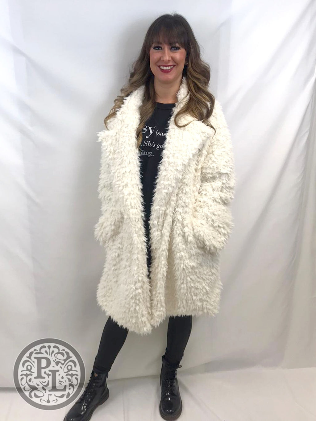 Shaggy Teddy Bear Coat - 3 colours - Pure Ladies Boutique