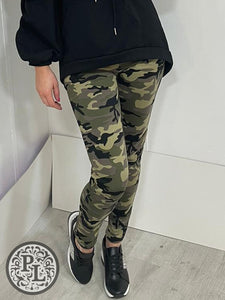 Camo leggings - Pure Ladies Boutique
