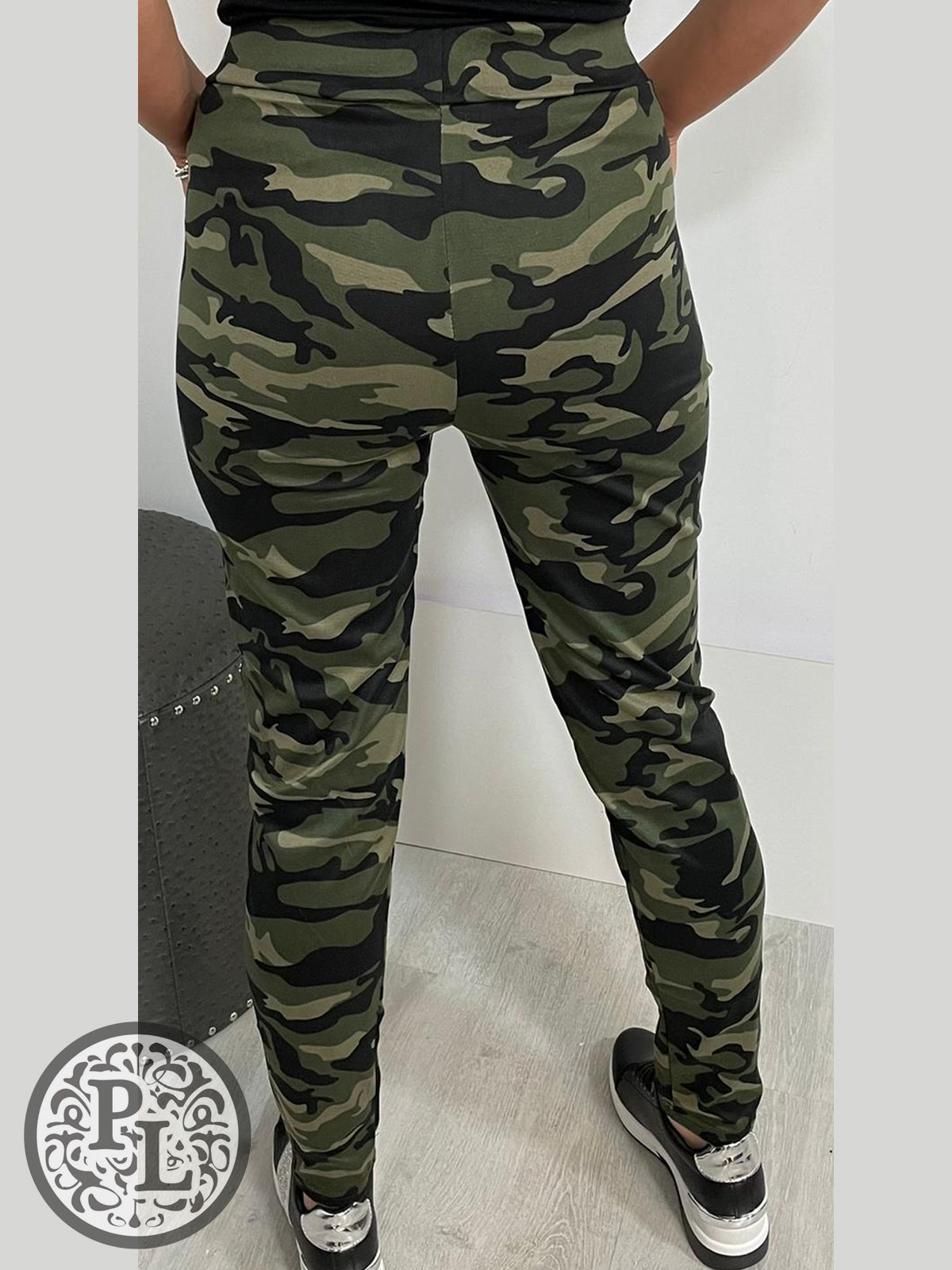 Camo leggings- Dark Green - Pure Ladies Boutique