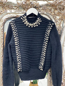 Pearl Knit Jumper - Pure Ladies Boutique