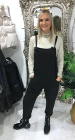 Load image into Gallery viewer, Plain Dungarees - Pure Ladies Boutique