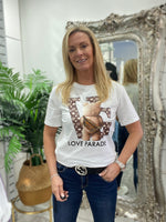 Load image into Gallery viewer, Toni Teddy T-shirt - Pure Ladies Boutique
