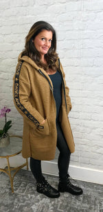 Load image into Gallery viewer, Camel 'Dance' Coat - Pure Ladies Boutique