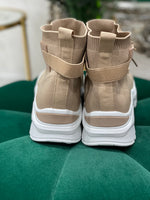 Load image into Gallery viewer, Sand Knit High Tops - Pure Ladies Boutique