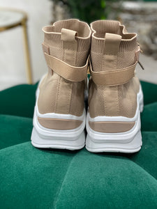 Sand Knit High Tops - Pure Ladies Boutique