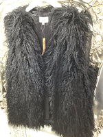 Load image into Gallery viewer, Shaggy Gilet with Pockets - Pure Ladies Boutique