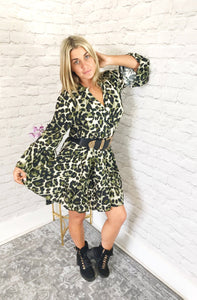 Leopard Swing Dress - Pure Ladies Boutique