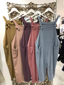 Plain Dungarees - Pure Ladies Boutique