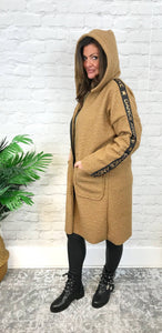 Camel 'Dance' Coat - Pure Ladies Boutique