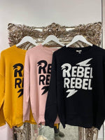 Load image into Gallery viewer, Rebel Rebel Jumper - Pure Ladies Boutique