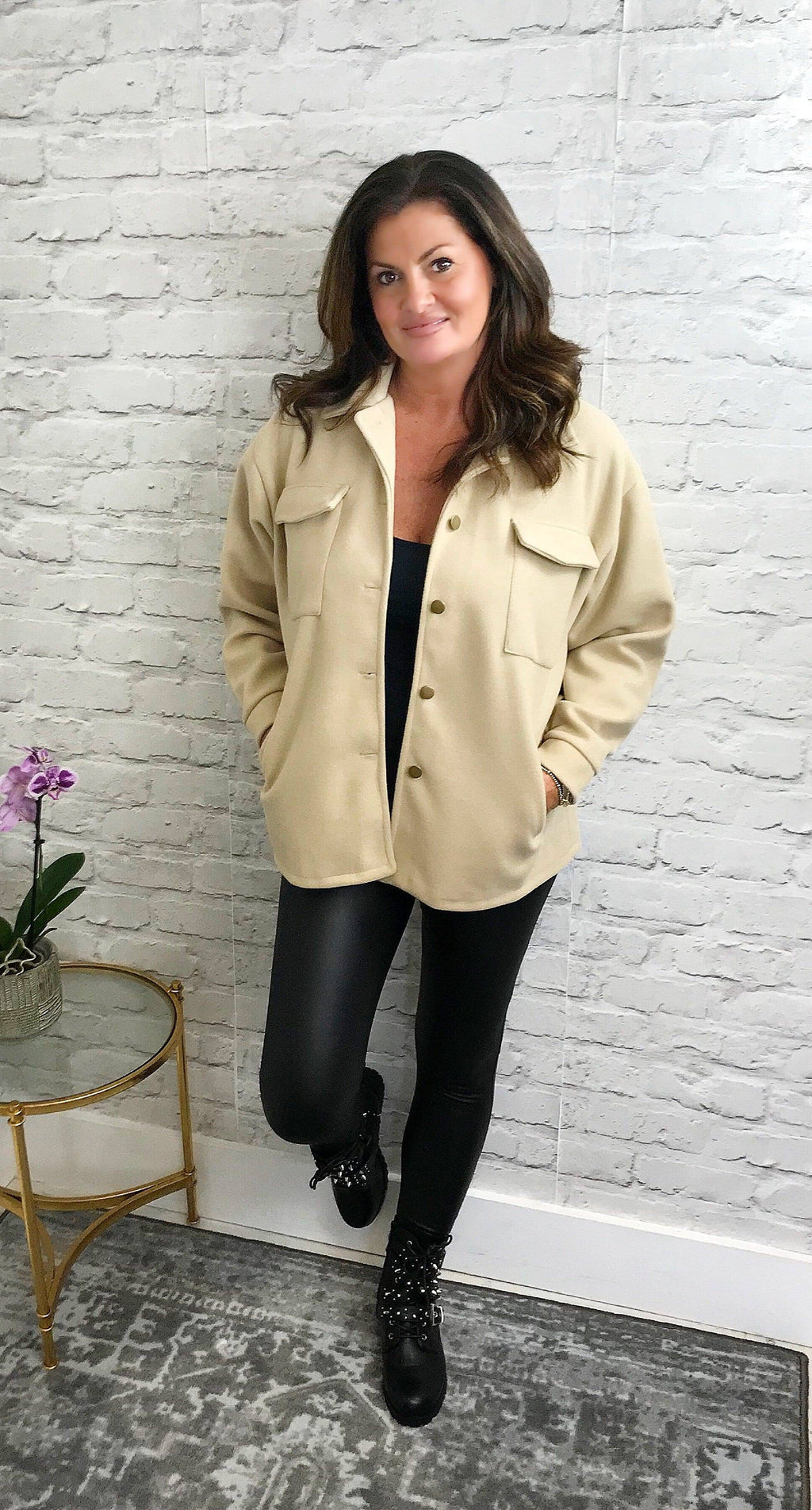Camel Jacket - Pure Ladies Boutique