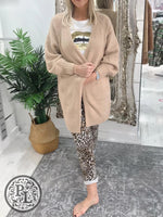 Load image into Gallery viewer, Camel Cardigan - Pure Ladies Boutique