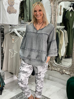 Load image into Gallery viewer, Sara Smock Top - Pure Ladies Boutique