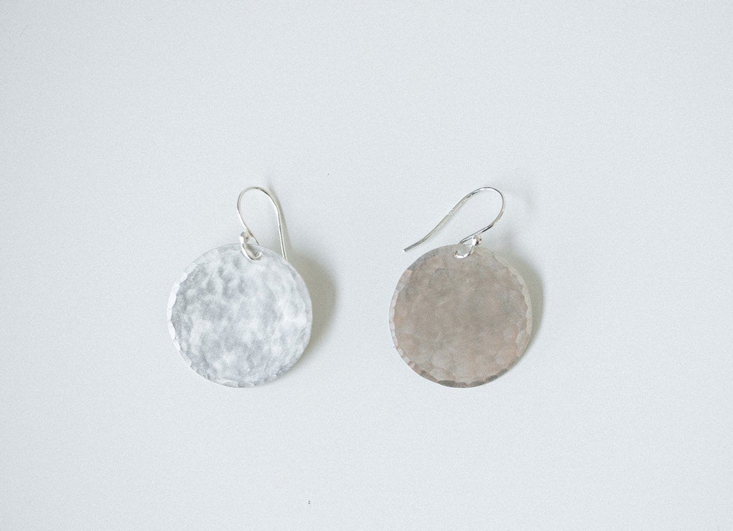 Earring Silver - DISC LARGE